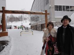 冬の北海道ニセコ