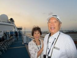 韓国への船旅
