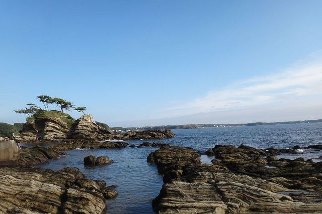 コロナ禍の夏の海と三浦海岸