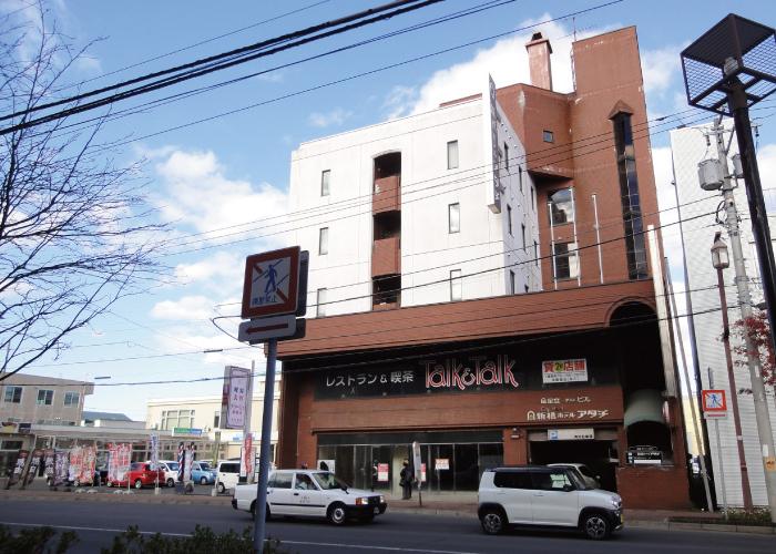 売ホテル(店舗付58室)釧路